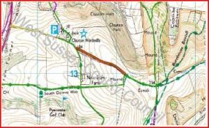 Clayton 17 Map