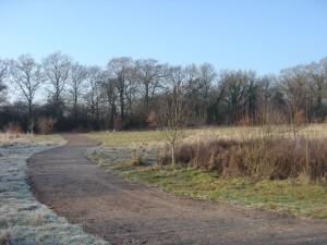 Green Crescent path, Burgess Hill dedicated as public bridleway - 2013